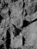 rocas sedimentarias de la montaña Imagen de archivo