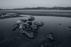 Rocas silenciosas Fotos de archivo libres de regalías