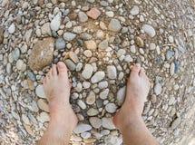 Rocas ásperas Foto de archivo
