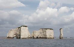 Rocas viejas de Harry Foto de archivo
