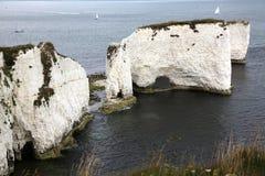 Rocas viejas de Harry, Poole Imagen de archivo libre de regalías
