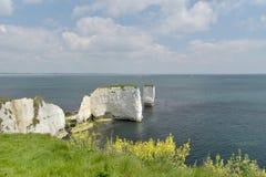 Rocas viejas de Harrys, Dorset Imágenes de archivo libres de regalías
