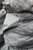 Rocas volcánicas agudas Fotos de archivo