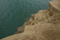 Rocas y agua Imagen de archivo