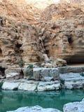 Rocas y aguas Fotografía de archivo