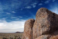 Rocas y cielo Foto de archivo libre de regalías