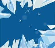 Rocas y cielo para su diseño Imagen de archivo libre de regalías