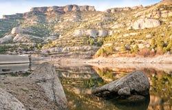 Rocas y depósito en España Foto de archivo