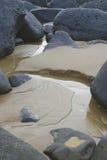 Rocas y derrubio Foto de archivo libre de regalías