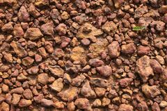 Rocas y fondo del fango Fotografía de archivo