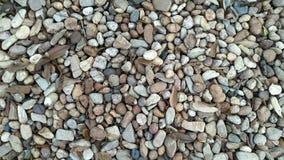Rocas y fondo sucios de las hojas fotos de archivo libres de regalías