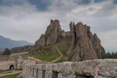 Rocas y fortaleza, Bulgaria de Belogradchik Imágenes de archivo libres de regalías