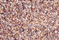 Rocas y grava del tono de Brown Foto de archivo libre de regalías