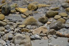 Rocas y guijarros Foto de archivo