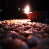 Rocas y lámparas Foto de archivo libre de regalías