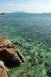 Rocas y mar Foto de archivo libre de regalías