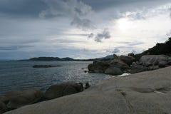 Rocas y mar, samui de la KOH Fotografía de archivo libre de regalías