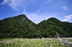 Rocas y montaña Foto de archivo