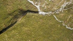 Rocas y onda del océano Imagen de archivo