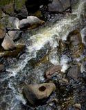 Rocas y Whitewater Imagen de archivo
