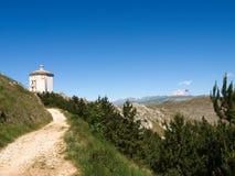 Rocca卡拉肖,圣玛丽亚公园della Pietà 库存图片