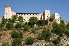 Rocca Albornoziana, Spoleto Royalty Free Stock Images