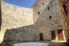 Rocca Aldobrendesca Suvereto Photo libre de droits