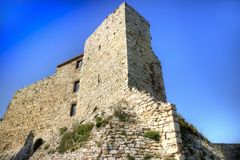 Rocca Aldobrendesca Suvereto Στοκ εικόνες με δικαίωμα ελεύθερης χρήσης