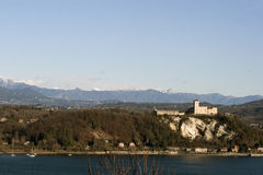 Rocca Angera Royalty Free Stock Images