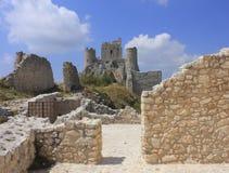 Rocca Calascio lizenzfreies stockbild