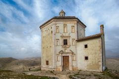 Rocca Calascio royalty-vrije stock fotografie