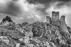 Rocca Calascio Fotografering för Bildbyråer