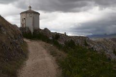 Rocca Calascio Stockfotografie