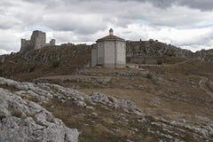 Rocca Calascio Stockfotos