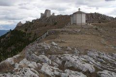 Rocca Calascio Lizenzfreies Stockfoto