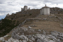 Rocca Calascio Lizenzfreie Stockfotos