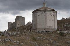 Rocca Calascio Lizenzfreie Stockbilder