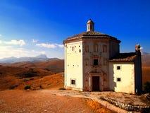 Rocca Calascio, Abruzzo Royaltyfria Foton