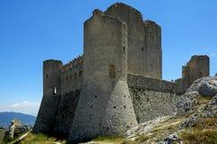 Rocca Calascio, Abruzzo, Italië Stock Afbeelding