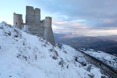 Rocca Calascio Aq Ιταλία Στοκ εικόνα με δικαίωμα ελεύθερης χρήσης