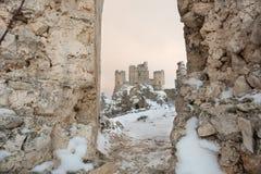 Rocca Calascio Aq Ιταλία Στοκ Φωτογραφίες