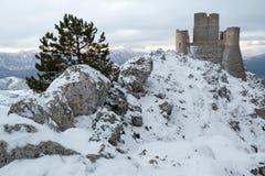 Rocca Calascio Aq Ιταλία Στοκ φωτογραφίες με δικαίωμα ελεύθερης χρήσης