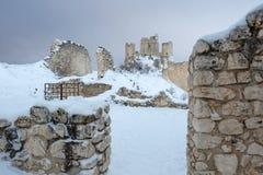 Rocca Calascio Aq Ιταλία Στοκ Φωτογραφία