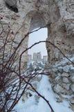 Rocca Calascio Aq Ιταλία Στοκ Εικόνες