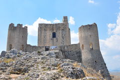 Rocca Calascio. Calascio castle. Royalty Free Stock Photos