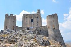 Rocca Calascio Calascio-Schloss lizenzfreie stockfotos