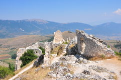 Rocca Calascio Calascio slott Arkivfoton