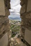 Rocca Calascio, Di Σάντα Μαρία Della Chiesa pietÃ, Abruzzo, Ιταλία Στοκ Φωτογραφία