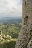 Rocca Calascio, Di Σάντα Μαρία Della Chiesa pietÃ, Abruzzo, Ιταλία Στοκ Εικόνα