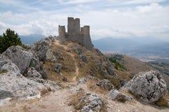 Rocca Calascio, Italia Fotografia Stock